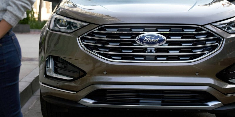 Silver 2019 Ford Edge at Byerly Ford Inc in Louisville KY